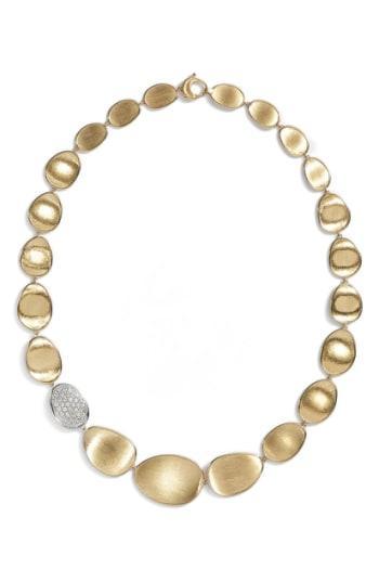 Women's Marco Bicego 'lunaria' Diamond Pave Collar Necklace