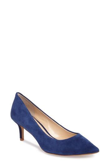 Women's Vince Camuto Kemira Pointy Toe Pump .5 M - Blue