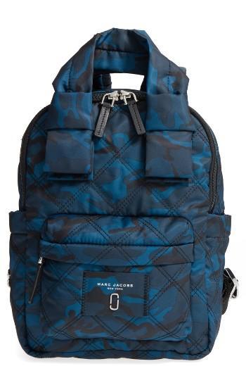 Marc Jacobs Nylon Knot Camo Backpack -