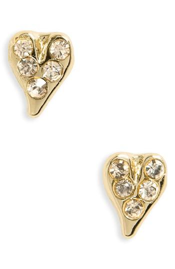 Women's Rebecca Minkoff Baby Heart Stud Earrings