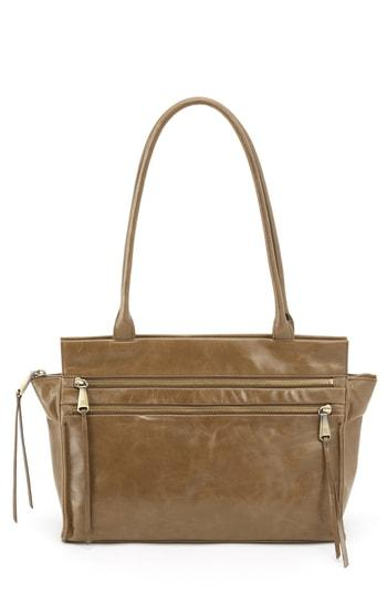 Hobo Seeker Top Handle Bag - Brown