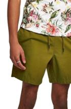 Men's Topman Ripstop Shorts - Green