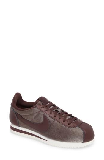 Women's Nike Classic Cortez Premium Xlv Sneaker M - Grey