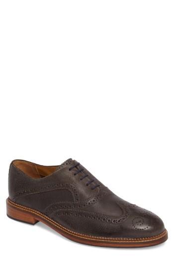 Men's J Shoes Spencer Wingtip M - Grey