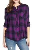 Women's Rails Allison Plaid Shirt - Purple