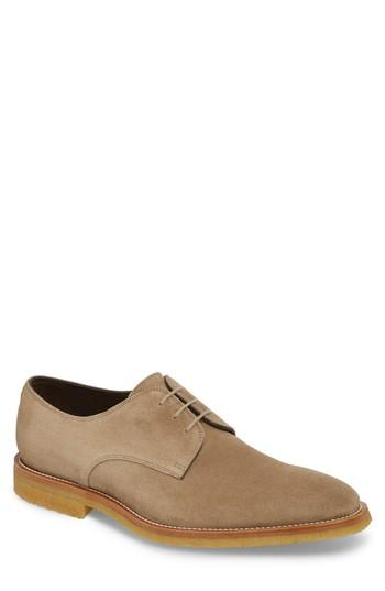 Men's To Boot New York Captain Plain Toe Derby M - Beige