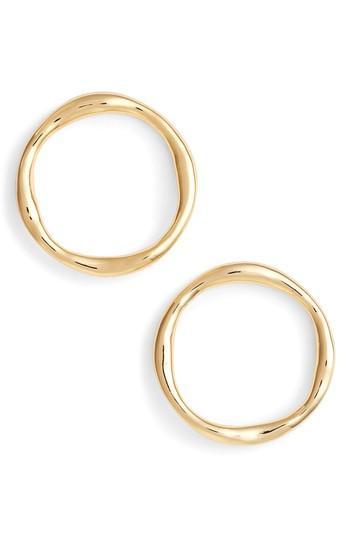 Women's Gorjana Quinn Frontal Hoop Earrings