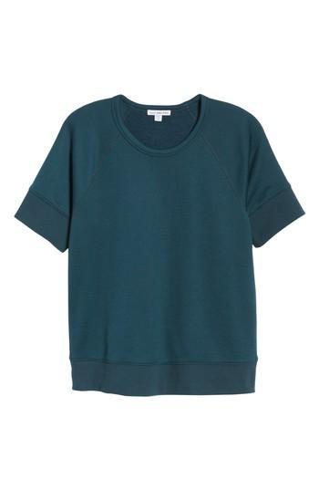 Women's James Perse Short Sleeve Sweatshirt