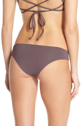 Women's L Space Sandy Classic Bikini Bottoms - Purple