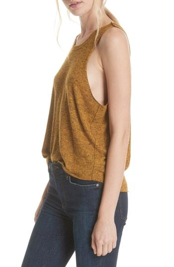 Women's We The Free By Free People Coziest Swing Tank - Yellow