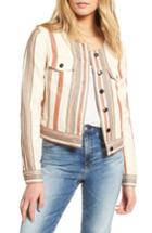 Women's Rebecca Minkoff Charlie Crop Jacket - Blue
