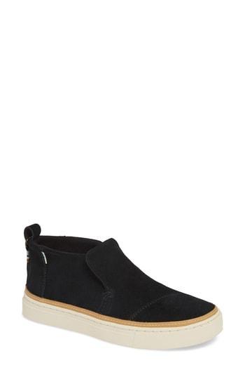 Women's Toms Paxton Slip-on Chukka Sneaker B - Black