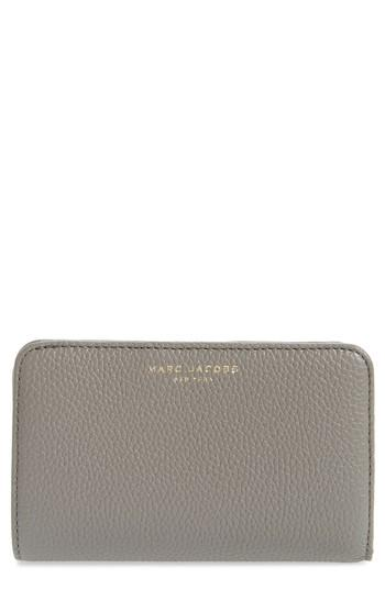 Women's Marc Jacobs Gotham Compact Leather Wallet -