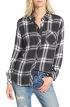 Women's Rails Hunter Plaid Shirt - Beige