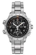 Men's Hamilton X-wind Chronograph Gmt Bracelet Watch, 46mm