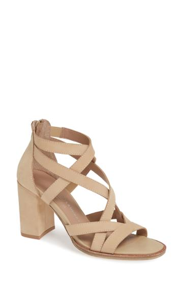 Women's Chinese Laundry Shawnee Strappy Sandal M - Beige