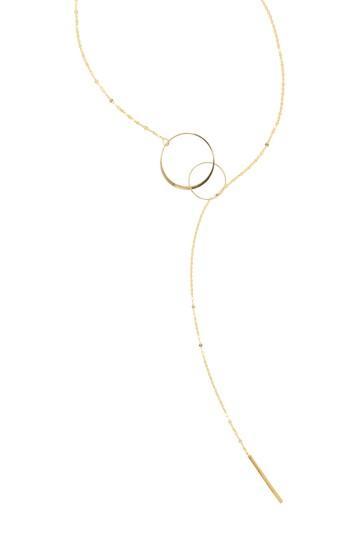 Women's Lana Jewelry Bond Link Lariat Necklace