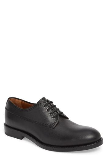 Men's Aquatalia Jonah Weatherproof Plain Toe Derby .5 M - Black