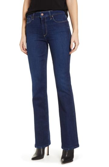 Petite Women's Paige Transcend Vintage - Manhattan High Waist Bootcut Jeans