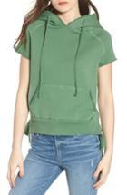 Women's Frank & Eileen Tee Lab Short Sleeve Pullover Hoodie - Green