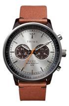 Men's Triwa Nevil Chronograph Leather Strap, 42mm