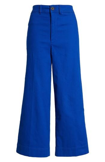 Women's Madewell Emmett Crop Wide Leg Pants