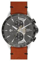 Men's Baume & Mercier Clifton Limited Edition Leather Strap Watch, 44mm