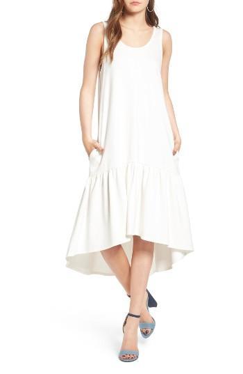 Women's Leith Flounce Midi Dress - Ivory