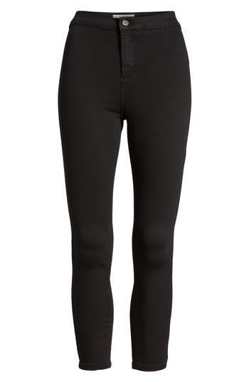 Petite Women's Topshop Joni Petite Jeans W X 28l (fits Like 30-31w) - Black