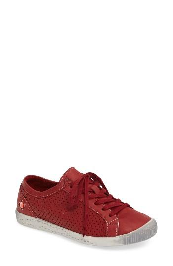 Women's Fly London Ica Sneaker .5-6us / 36eu - Blue
