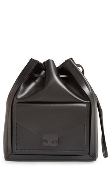 Loeffler Randall Lock Drawstring Shoulder Bag