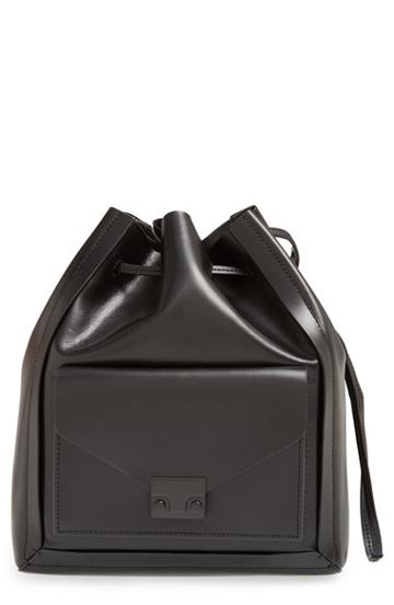 Loeffler Randall Lock Drawstring Shoulder Bag