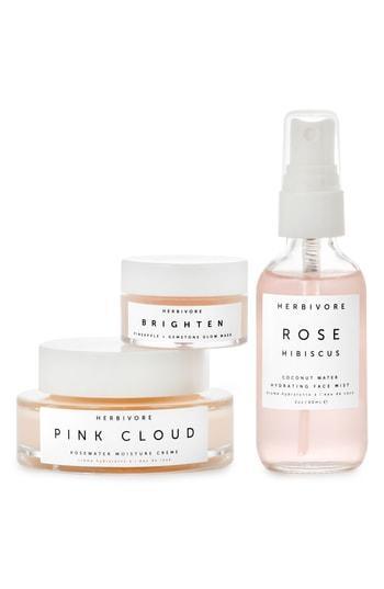 Herbivore Botanicals Rosewater + Gemstone Trio