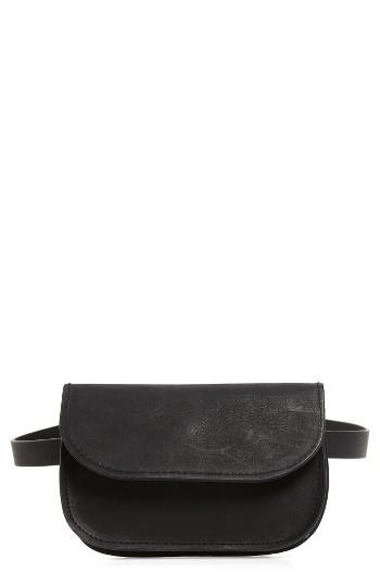 Accessory Collective Faux Leather Belt Bag -