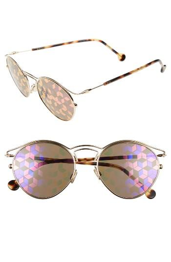 Women's Christian Dior 48mm Round Sunglasses -