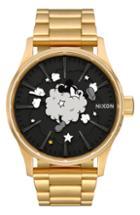 Men's Nixon X Disney Sentry Fight Cloud Bracelet Watch, 42mm