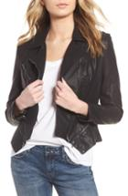 Women's Blanknyc Faux Leather Moto Jacket, Size - Beige