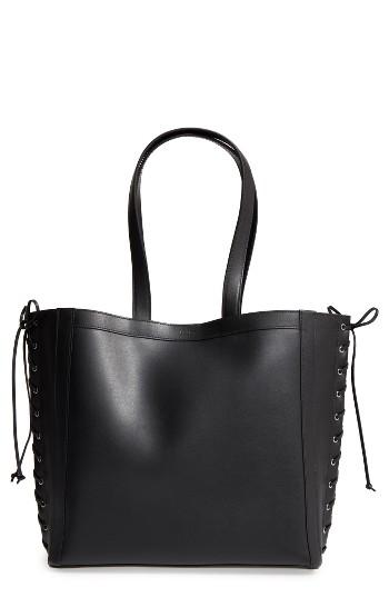 Max Mara Large Leather Shopper -