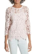 Women's Joie Charnette Lace Top - Pink