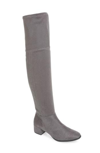 Women's Chinese Laundry Felix Over The Knee Boot M - Grey