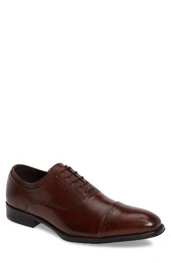 Men's Reaction Kenneth Cole Pull Over Cap Toe Oxford M - Brown