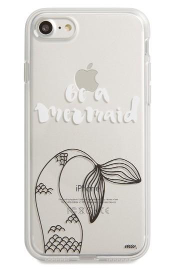 Milkyway Mermaid Tail Iphone 7 Case - White