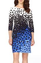 Women's Tahari Jersey Sheath Dress