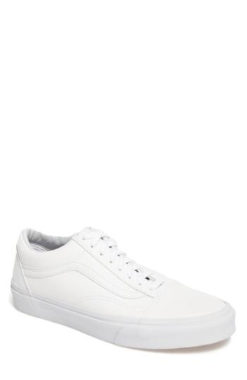 Men's Vans Old Skool Sneaker .5 M - White