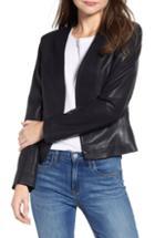 Women's Blanknyc Relaxed Velvet Blazer - Black