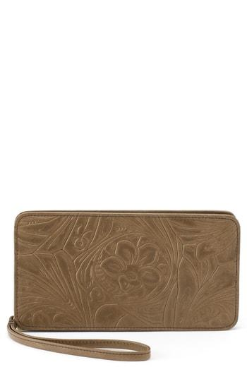 Women's Hobo Avis Leather Wallet -