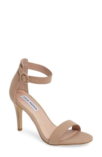 Women's Steve Madden Born Sandal .5 M - Brown