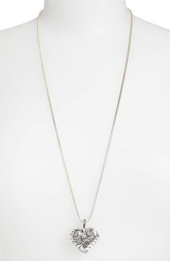 Women's Lagos 'hearts Of Lagos - New York' Long Pendant Necklace