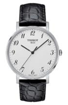 Men's Tissot Everytime Leather Strap Watch, 38mm
