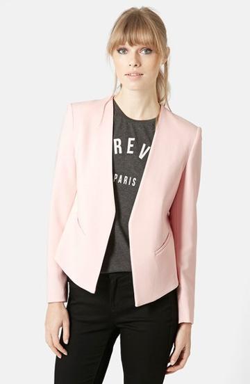 Women's Topshop 'molly' Blazer, Size 6 (2-4 Us) -